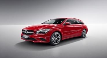 Da Mercedes, CLA Shooting Brake: spazio al nuovo