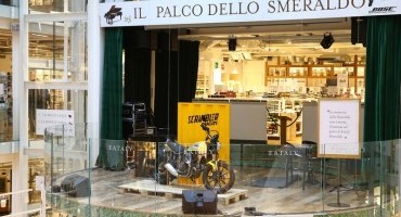 Scrambler Ducati ospite di Eataly a Milano