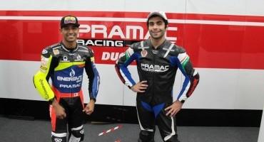 Pramac: Hernandez sfida Montoya a Bogotà, Petrucci su una Nascar al MotorShow