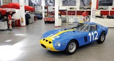 La Lady in Blu, al reparto Classiche il restauro di una splendida Ferrari 250 GTO