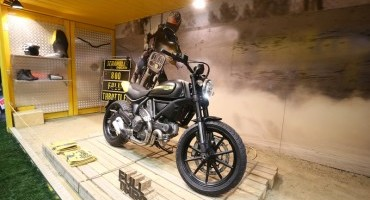 "Scrambler Ducati: ""Land of Joy"" ad EICMA 2014"
