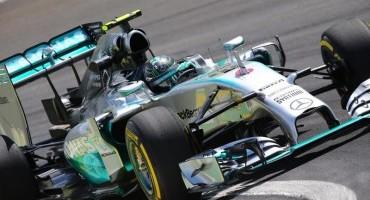 Formula 1, GP del Brasile, è lui il poleman della stagione, Rosberg centra la decima partenza al palo