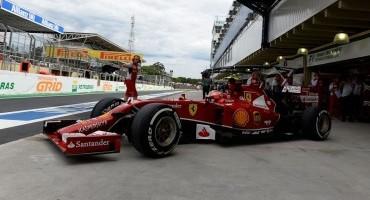 Formula 1, Scuderia Ferrari: la pioggia potrebbe modificare i valori in campo