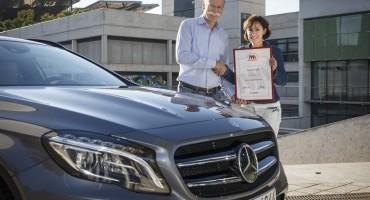 Mercedes GLA : per il web è l'auto più bella