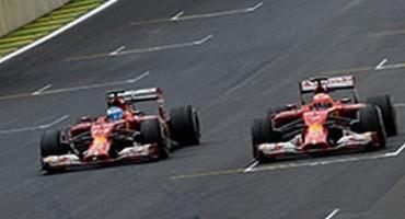 Scuderia Ferrari, Fernando e Kimi, spettacolo a Interlagos