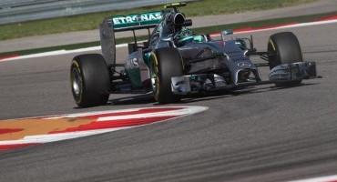 Formula1, GP degli Stati Uniti, nona pole stagionale per Rosberg, 2° Hamilton, 6° Alonso