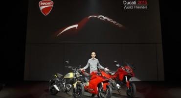 EICMA 2014: Ducati presenta le novità 2015