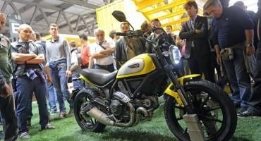 Il pubblico di EICMA 2014 elegge Scrambler Ducati la moto più bella del salone