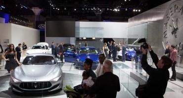 Maserati:  al Salone di Los Angeles la gamma MY 2015