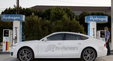 Al Salone di Los Angeles Audi presenta la nuova A7 Sportback h-tron quattro, 500 km con un pieno!