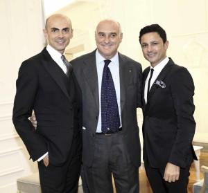 Enzo Miccio, Maurizio Marinellla, Gino Signore