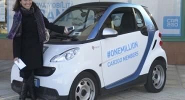 1 milione di clienti: car2go è la più grande società di car-sharing al mondo