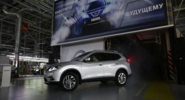 Inizia la produzione di Nissan XTrail a San Pietroburgo