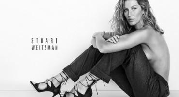 Stuart Weitzman's Spring 2015 Advertising Campaign Captures Gisele Bundchen's Inner Tomboy