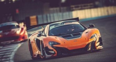 """The McLaren 650S GT3 claims pole position for the """"2014 Gulf 12 Hour"""" on its debut outing"""