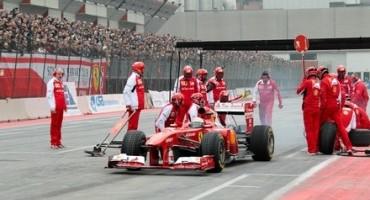 Motor Show 2014, grande spettacolo della Scuderia Ferrari