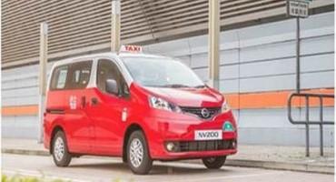 Nissan, presentato a Hong Kong la nuova generazione di taxi NV200