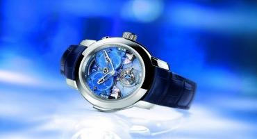 "Ulisse Nardin, l'arte orologiera prende forma in ""Imperial Blue"""