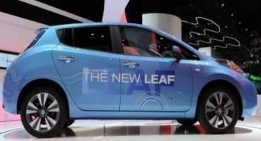 I Gruppi Sportivi delle Fiamme Gialle scelgono la mobilità elettrica di Nissan LEAF