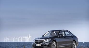 Mercedes-Benz, la S 500 PLUG-IN HYBRID conquista la certificazione ambientale TÜV Süd