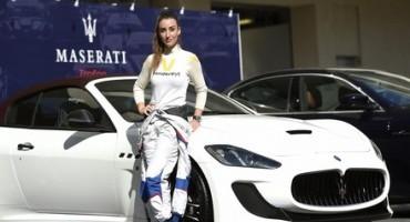 Maserati, Angelique, la modella con la passione per le corse