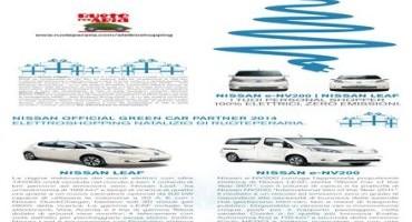 Nissan è Green Car Partner dell'ElettroShopping Natalizio