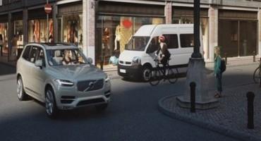 Volvo Cars, una nuova  tecnologiamette in comunicazione i caschi dei ciclisti con le automobili