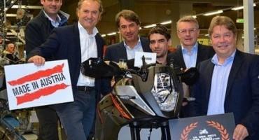 KTM produzione record: oltre 100.000 costruite nel 2014!