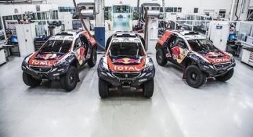 Team Peugeot-Total, Peterhansel : «Non sono mai stato così veloce durante un test»