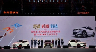 CHINA: Dongfeng CITROËN celebrates the Brand's 95th birthday and launches its new SUV, the le C3-XR