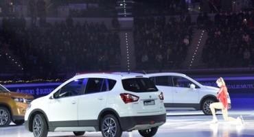 """Le auto Suzuki protagoniste al Golden Skate Awards, """"Gran Galà del Ghiaccio"""""""