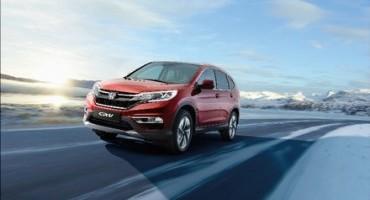 Honda CR-V: nuovo propulsore, nuovo design e avanzati sistemi tecnologici