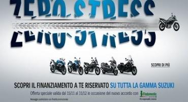Suzuki propone Zero Interessi per moto, scooter, accessori e manutenzione