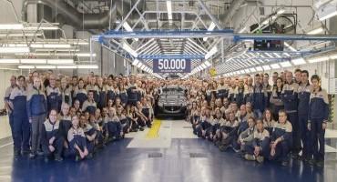 Maserati: a Grugliasco si festeggia la vettura numero 50.000