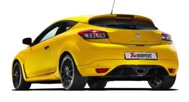 Akrapovič: lo scarico evolution sulla sportiva Renault, la Mégane R.S.