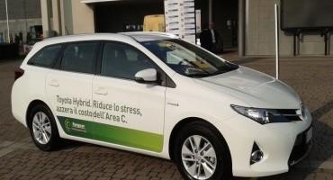 Europcar e Toyota, l'ibrido a Milano per un'esperienza di guida confortevole e sostenibile