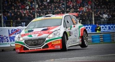 MonzaRallyShow, la 208 T16 tricolore festeggia vincendo la categoria R5