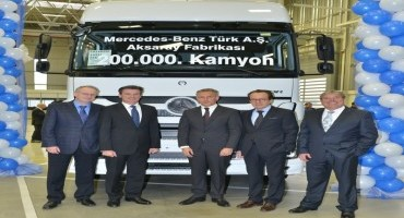Mercedes-Benz Trucks, stabilimento di Aksaray, pietra miliare con 200000 camion costruiti