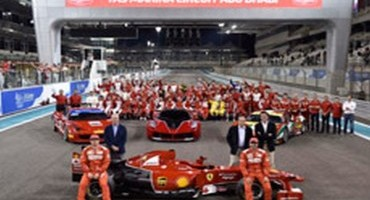 Ferrari, Abu Dhabi, finali mondiali: si chiude alla grande