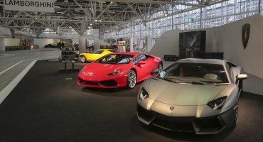 Lamborghini, al Motor Show 2014 con Huracán LP 610-4, Aventador LP 700 e MiuraSV