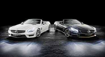 Mercedes, due special edition della SL 63 AMG per i trionfi di Lewis Hamilton e Nico Rosberg