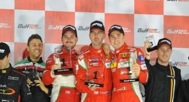 Dominio Ferrari nella 12 Ore del Golfo
