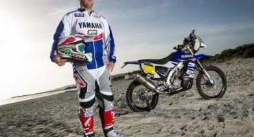 Alessandro Botturi pronto per la Dakar 2015 su Yamaha WR450F Rally