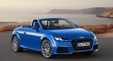 Audi TTS coupé e TT Roadster, ora disponibili sul mercato italiano