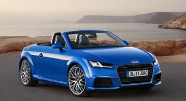 Audi TTS coupé e TT Roadster, ora disponibili sul mercato italiano