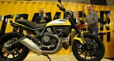 Ducati, iniziata a Bologna la produzione dello Scrambler