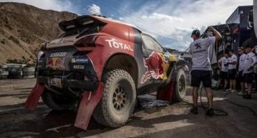 Dakar, terza tappa: Sainz quarto per il Team Peugeot Total