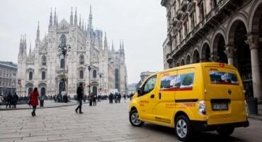 "Nissan e DHL Express, la mobilità commerciale a ""emissioni zero""."