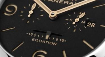 SIIH 2015, Officine Panerai: presenta il Luminor 1950 Equation of Time 8 Days (Acciaio– 47mm)