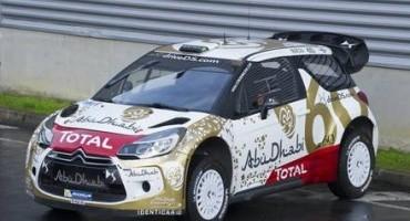 WRC, stagione 2015: nuova livrea per DS 3 WRC